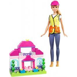 Mattel Barbie Stavitelka hrací set Barbie