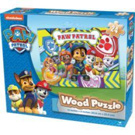 Spin Master Paw Patrol dřevěné puzzle v krabici Puzzle
