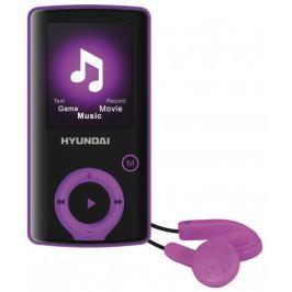 Hyundai MPC 883 FM/16 GB (Black/Purple) - rozbaleno Paměťové MP3/MP4