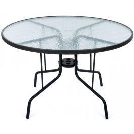 MAKERS SAVONA zahradní stůl kulatý, čirý Stoly