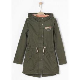s.Oliver dívčí kabát parka S tmavě zelená Doplňky do domácnosti