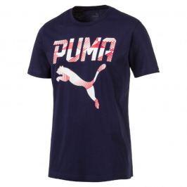 Puma PUMA Brand Tee Peacoat S Městská, volnočasová trička