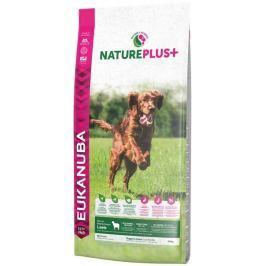 Eukanuba Nature Plus+ Puppy & Junior Rich in freshly frozen Lamb 14kg Granule pro psy