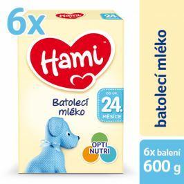Hami 24+ 6 x 600g Dětská mléka