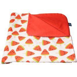 CuddlyZOO Dětská deka letní - meloun/červená Produkty