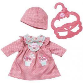 Baby Annabell My First Pohodlné oblečení červené šatičky Doplňky pro panenky