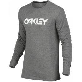 Oakley 100C-Mark II L/S Tee Athletic Heather Grey S