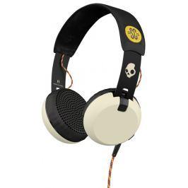 Skullcandy Grind, černá/bílá - rozbaleno Sluchátka s mikrofonem