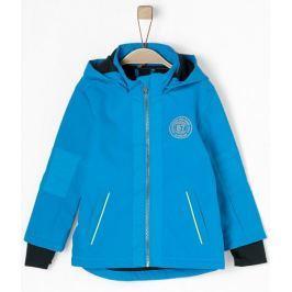 s.Oliver chlapecká softshellová bunda 104 modrá