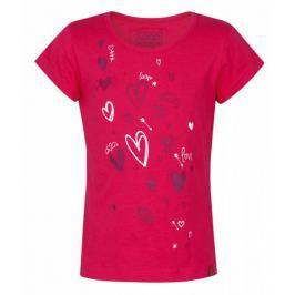 Loap dívčí tričko Ibiska 112/116 růžová Produkty