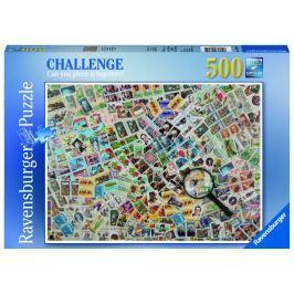 Ravensburger Známky 500 dílků Puzzle