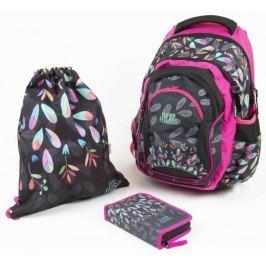Karton P+P Školní set OXY Fashion kytky Školní batohy