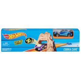 Hot Wheels Hrací souprava ohromný skok Cobra Cave Auta