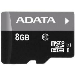 Adata Micro SDHC Premier 8GB UHS-I (AUSDH8GUICL10-R) Paměťové karty