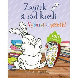Zajíček si rád kreslí - Vybarvi si příběh! Naučná literatura do 10 let