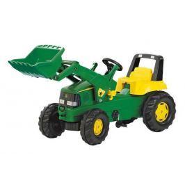 Rolly Toys Šlapací traktor Rolly Junior John Deere s předním nakladačem Šlapací vozítka