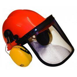 MTD Komplet obličejový štít + přilba + sluchátka