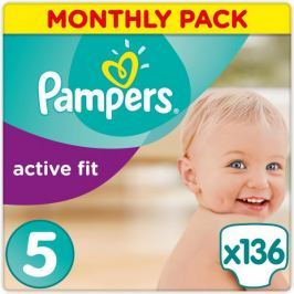 Pampers Pleny Premium Protection Active Fit 5 Junior 136 ks