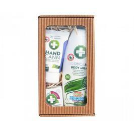 Annabis Dárkové balení Přírodní regenerace - Bodycann tělové mléko + Handcann Q10 + Cremcann Hyaluron 15 ml