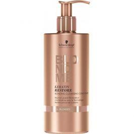 Schwarzkopf Prof. Čisticí keratinový kondicionér pro blonďaté vlasy BLONDME (Keratin Restore Bonding Cleansing Conditi