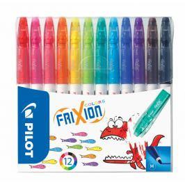 Pilot Fixy Frixion Colors, sada, 12 barev, vymazatelný