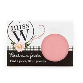 Miss W Pudrová tvářenka pro zdravý vzhled pleti (Blush Powder) 6,5 g (Odstín Old Pink)