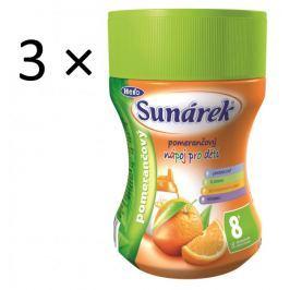 Sunárek Instantní nápoj pomerančový, 3×200g Dětské nápoje