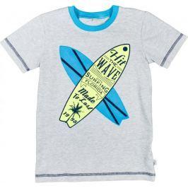 MMDadak chlapecké tričko Surf 104 šedá