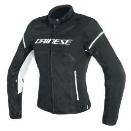 Dainese bunda dámská AIR-FRAME D1 LADY TEX vel.52 černá/bílá, textilní