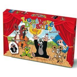 Teddies Loutkové Divadlo Krtek papírové 6 ks postaviček