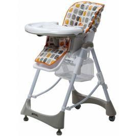 BRITTON Jídelní židlička Hip+, Oranžová