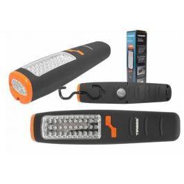 TIROSS Pracovní svítilna, 30 + 7 LED, skládací otočný háček, vestavěný magnet