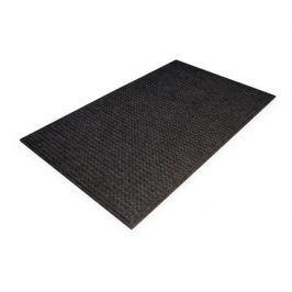 Černá plastová čistící vnitřní vstupní rohož - 150 x 90 x 1 cm