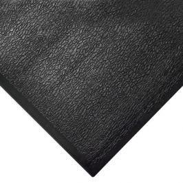 Černá gumová protiúnavová průmyslová rohož - 150 x 90 x 1,25 cm