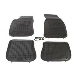 REZAW-PLAST Gumové koberce, černé, sada 4 ks (2x přední, 2x zadní), Audi A4 1995-2001