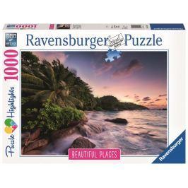 Ravensburger Ostrov Praslin Seychely 1000 dílků