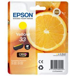 Epson Singlepack Yellow 33 Claria Premium (C13T33444010)