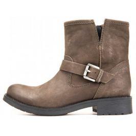 Geox dámská kotníčková obuv Donna New Virna 37 hnědá
