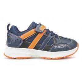 Geox chlapecké tenisky Top Fly 28 modrá/oranžová