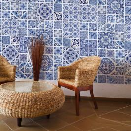 Walplus Samolepicí tapeta Ocean Blue tiles