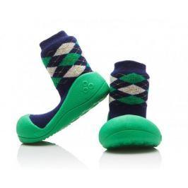 Attipas Chlapecké botičky Argyle Green 21,5 zeleno-modrá