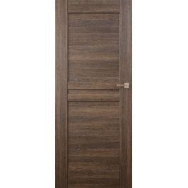 VASCO DOORS Interiérové dveře MADERA plné, model 1, Dub rustikál, A
