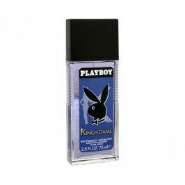 Playboy King Of The Game - deodorant s rozprašovačem 75 ml Pánské parfémy