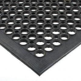 Olejivzdorná protiskluzová protiúnavová průmyslová rohož (25% nitrilová pryž) - 150 x 90 x 1,25 cm