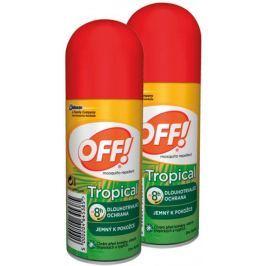 OFF! Tropical spray 2x 100 ml