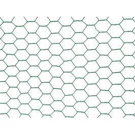 Chovatelské šestihranné pletivo Zn+PVC 13 mm - výška 50 cm, role 10 m