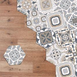 Walplus Sada dekorativních samolepicích dlaždiček WDB051