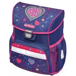 Herlitz Školní taška Loop srdce modré