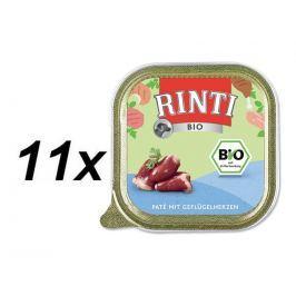 Rinti vanička RintiBio drůbeží srdíčka 11 x 150 g