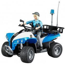 Bruder Bruder 63010 Policejní čtyřkolka s figurkou